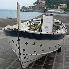 Scansione Gozzo in porto