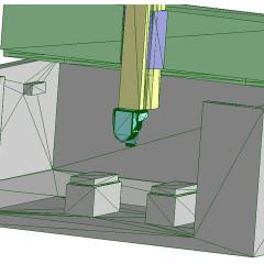 Modellazione Isola di fresatura da scansione per punti