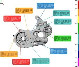 Controllo dimensionale 3d mediante SCANNER OTTICO 3D-2